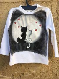 Gatitos enamorados