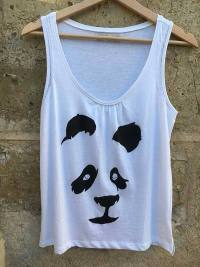 Silueta panda