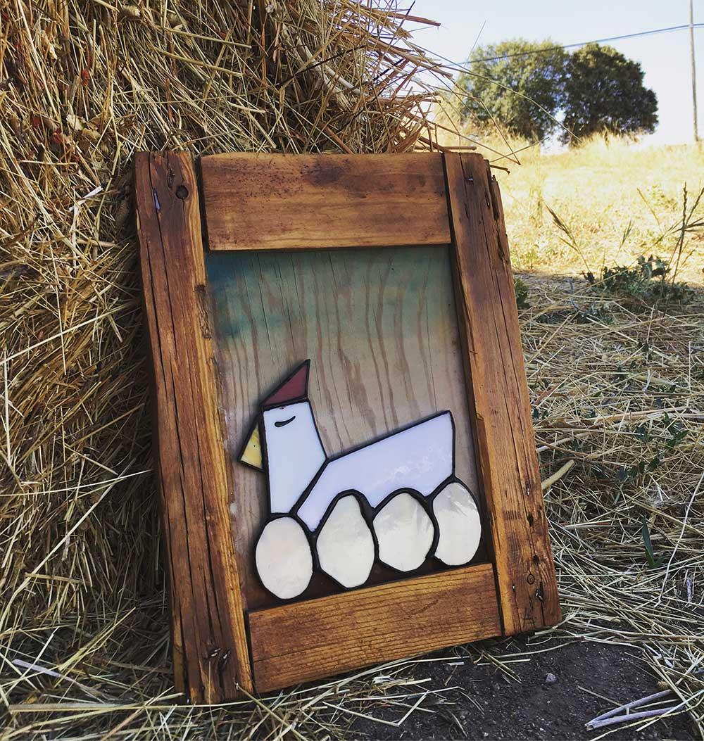 Artesanía para decoración en vidrio. Tienda on-line - HadaHaro